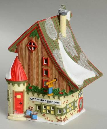 Gift Wrap and Ribbons Dept. 56 Retired Heritage Village North Pole Series