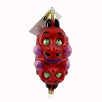 Radko Rare Retired Vintage Halloween Ornament Double Crosser