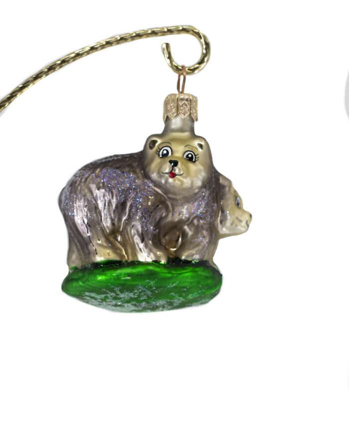 Radko Petite Rare Retired Vintage Bears Ornament