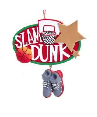 slam dunk ornament